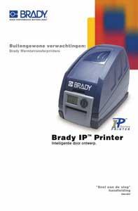 IP Printer Quick Start Guide - Dutch