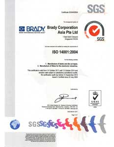 ISO 14001-2004 Asia