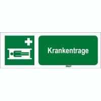 ISO 7010 Zeichen - Krankentrage-STDE E013-450x150-AL-CRD/1