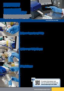 BradyJet J2000 Laboratory sell sheet - German