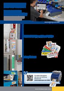 BradyJet J2000 SFID sell sheet - German
