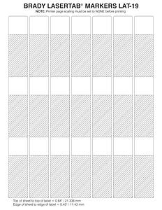 brady label templates - brady part lat 19 361 1 29744 lasertab series self