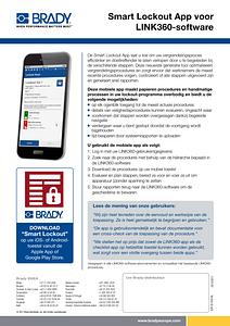 Smart Lockout App voor LINK360-software