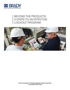 Beyond The Products: 5-Steps To An Effective Lockout Program