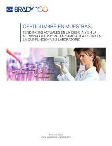 Libro electrónico: Certidumbre en muestras de laboratorio