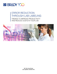 Error Reduction through Lab Labeling Whitepaper