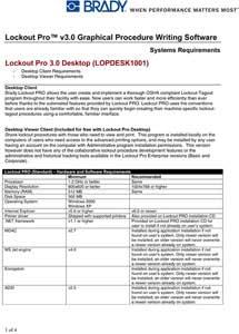 BRADY LOCKOUT PRO WINDOWS XP DRIVER