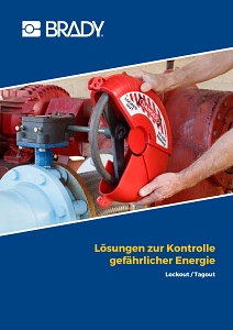 Lockout Tagout catalogue in German