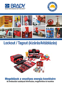 Lockout Tagout Catalogue Europe in Hungarian