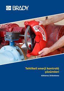Lockout Tagout Catalogue - Turkish