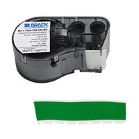 BMP41/BMP51/BMP53 Labelmaker Tape-MC1-1000-595-GN-WT