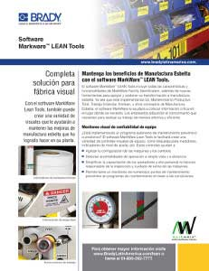 Hoja informativa del software MarkWare Lean