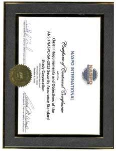NASPO Certificate Brady Milwaukee