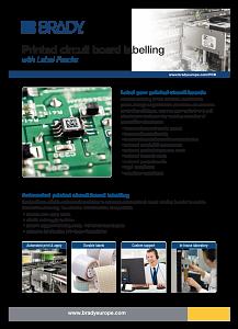 PCB Identification Sellsheet - English - Brady UK