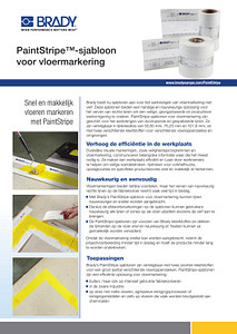 Paintstripe Sellsheet - Dutch