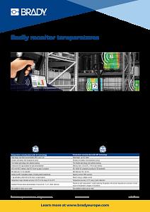 RFID Temperature Labels Infosheet in English