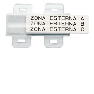 Drager voor tags van 15x49 mm