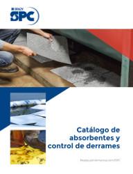 Catálogo de productos absorbentes y para control de derrames SPC