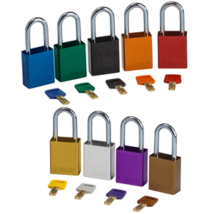 SafeKey Aluminium Padlocks