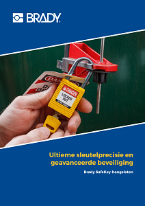 SafeKey Lockout Padlocks brochure in Dutch