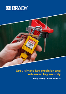 SafeKey Lockout Padlocks Brochure in English
