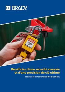 SafeKey Lockout Padlocks brochure in French