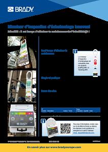 Inspection Timer for Scaffolding sellsheet - French