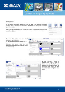 Spotlight 6 LabelMark6 Flip Flop Europe in Dutch
