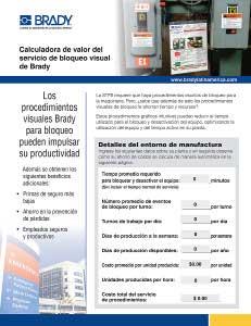 Calculadora de ahorro del Servicio de Procedimientos Gráficos