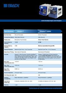 Wraptor & Wraptor A6500 Comparison Sheet - English