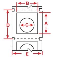 Raised Profile Labels for BBP3x Printers-B30EP-167U-593-WT