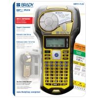 De BMP™21-PLUS draagbare labelprinter is een alles-in-één printer voor voice/datacom, elektrische en algemene industriële identificatie.-BMP21-PLUS