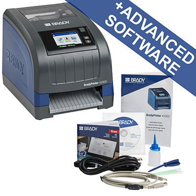 The BradyPrinter i3300 Industrial Label Printer is a completely hassle free, easy to use PC-based printer that can print signs and labels up to 4