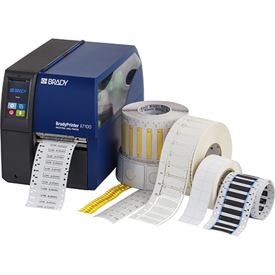 BradyPrinter i7100 and BP-PR Plus Labels & Tapes