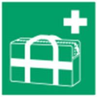 Medizinischer Notfallkoffer–ISO 7010-E/E027/NT-PP-148X148/1-B