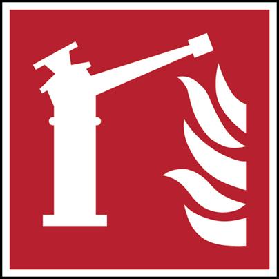 Feuerlöschmonitor–ISO 7010-F/F015/NT-SA-200X200/1-B