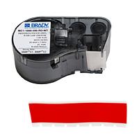 BMP41/BMP51/BMP53 Labelmaker Tape-MC1-1000-595-RD-WT