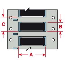 PermaSleeve Schrumpfschläuche zur Kabelkennzeichnung-3PS-125-2-BK-S-2