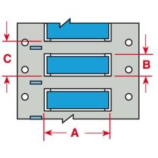 PermaSleeve Schrumpfschläuche zur Kabelkennzeichnung-3PS-125-2-BL-S