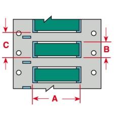PermaSleeve Schrumpfschläuche zur Kabelkennzeichnung-3PS-250-2-GR-S