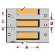 PermaSleeve Schrumpfschläuche zur Kabelkennzeichnung-3PS-094-2-OR-S-2