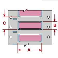 PermaSleeve Schrumpfschläuche zur Kabelkennzeichnung-3PS-1000-2-PK-S