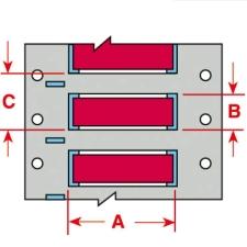 PermaSleeve Schrumpfschläuche zur Kabelkennzeichnung-3PS-125-2-RD-S-2