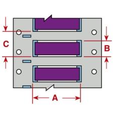 PermaSleeve Schrumpfschläuche zur Kabelkennzeichnung-3PS-094-2-VT-S