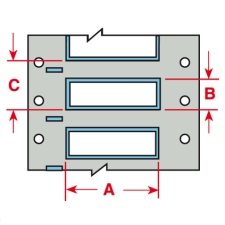 LS2000 PermaSleeve Schrumpfschläuche zur Kabelkennzeichnung-PS-0231-125-WT-4