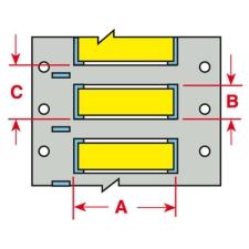 PermaSleeve Schrumpfschläuche zur Kabelkennzeichnung-3PS-187-2-YL-4