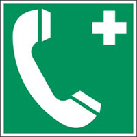 Rettungseinrichtungen - Notruftelefon