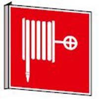 Fahnen- und Winkelschilder - Löschschlauch