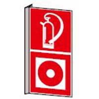 Fahnen - und Winkelschilder: Feuerlöscher/Brandmelder