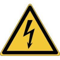 iso sicherheitskennzeichnung warnung vor gef hrlicher elektrischer spannung 828095. Black Bedroom Furniture Sets. Home Design Ideas